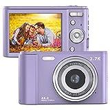 Compactas Cámaras Digitales FamBrow Camara de Fotos 2.7K 2.88 Pulgadas 44...