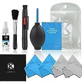 CAMKIX Cleaning Kit - Pack de Limpieza de Equipos fotográficos (Canon, Nikon,...