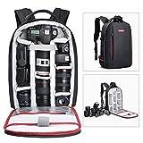 BESCHOI - Mochila para cámara réflex Digital, Impermeable, para cámaras de Fotos...