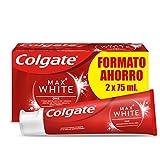 Colgate Max White One Pasta de Dientes Blanqueante, 2 x 75ml