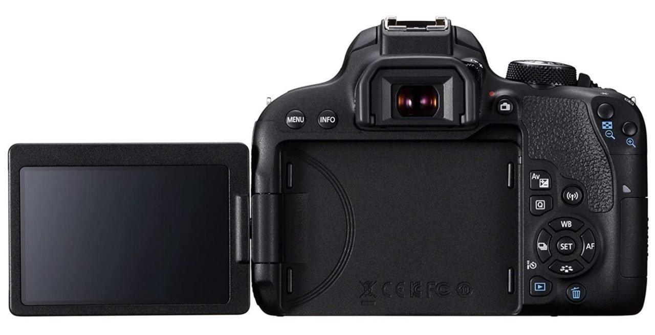 Las mejores cámaras para principiantes: Canon EOS 800D