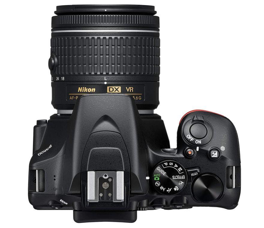 Las mejores cámaras para principiantes: Nikon D3500