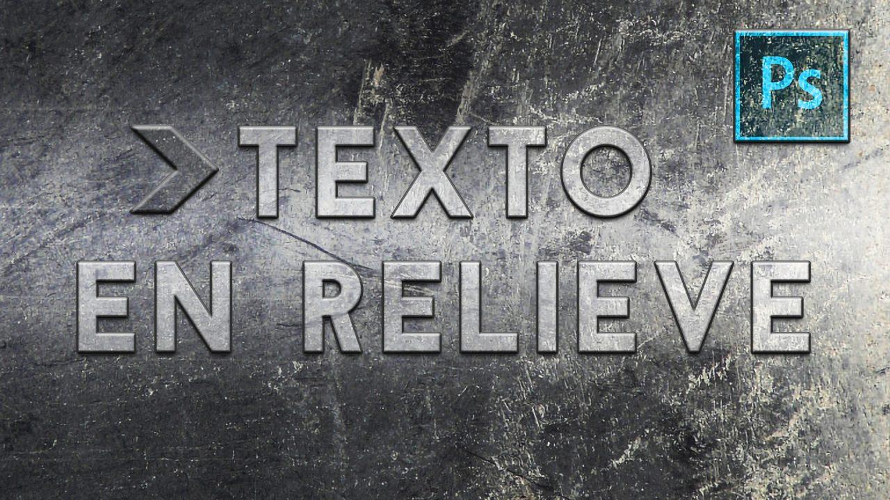 Texto relieve